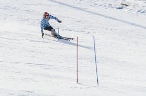 Årets sista slalomträning