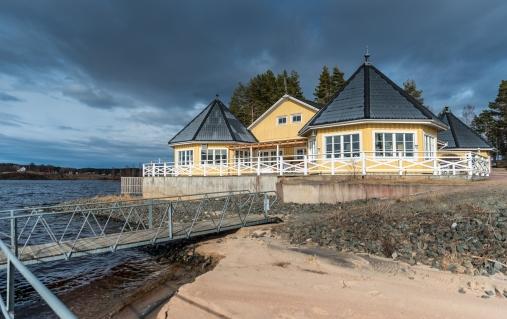 Campingrestaurang i Lysvik