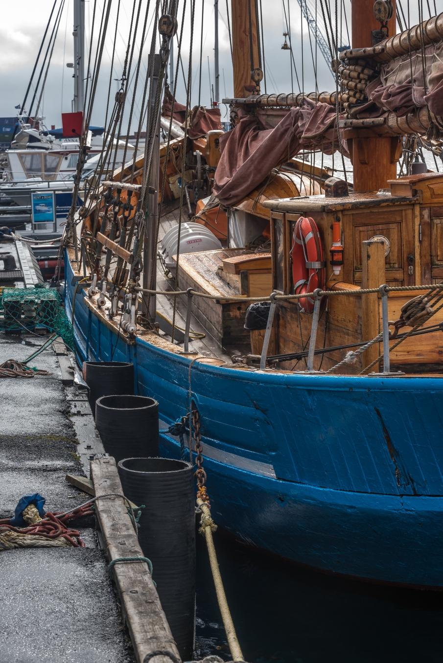 Turistseglare i Tórshavn