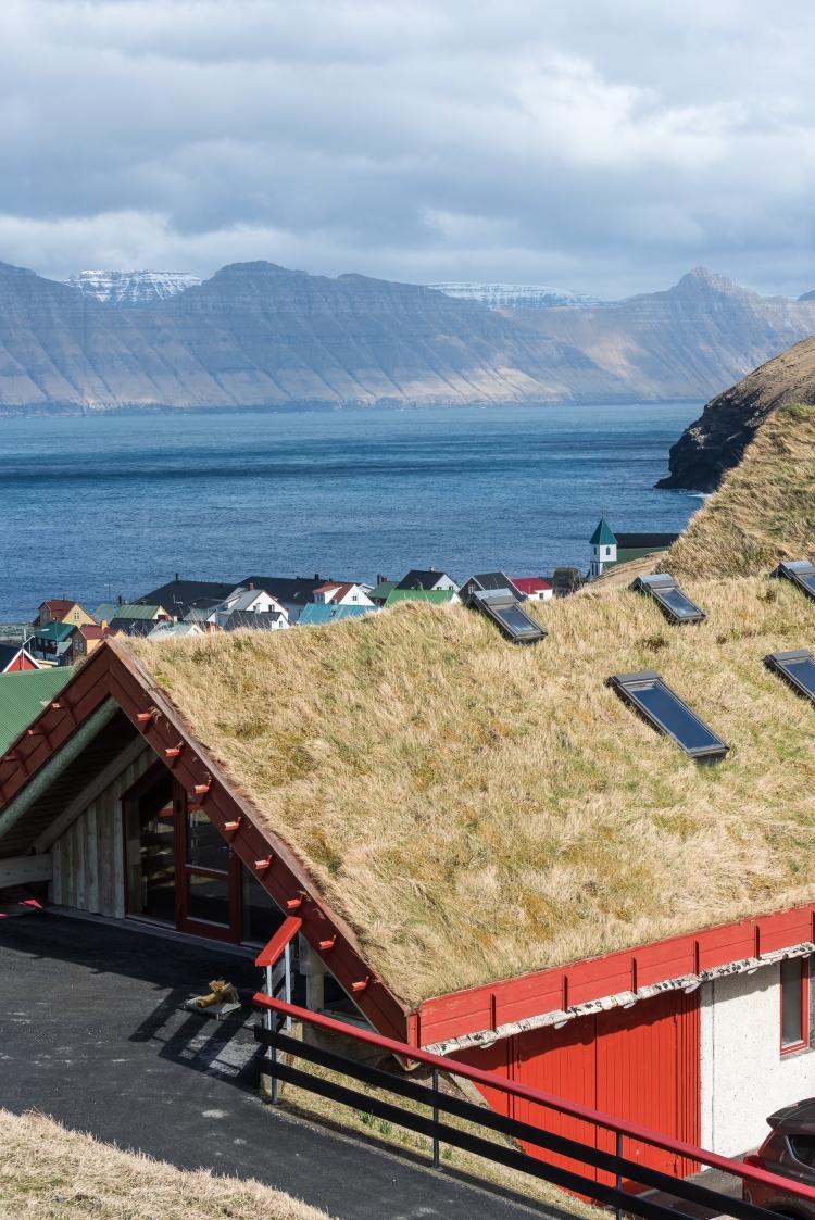 Gjáargarður från mitt rum