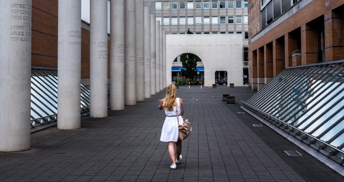 Straße der Menschenrechte (människorättsgatan)