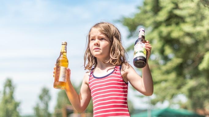 Apfelschorle eller alkoholfri öl?