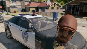 Glitchande snut i Oakland