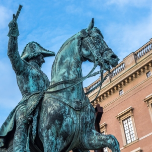 Karl XIV Johan på ny plats