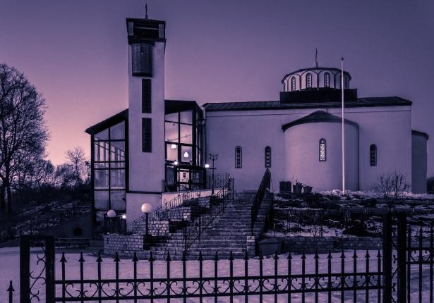 Serbisk-ortodoxa kyrkan i Enskede Gård