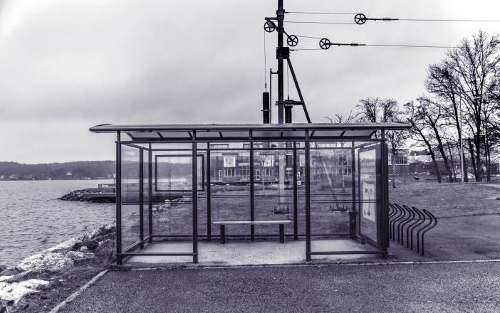 Gåshaga, slutstation