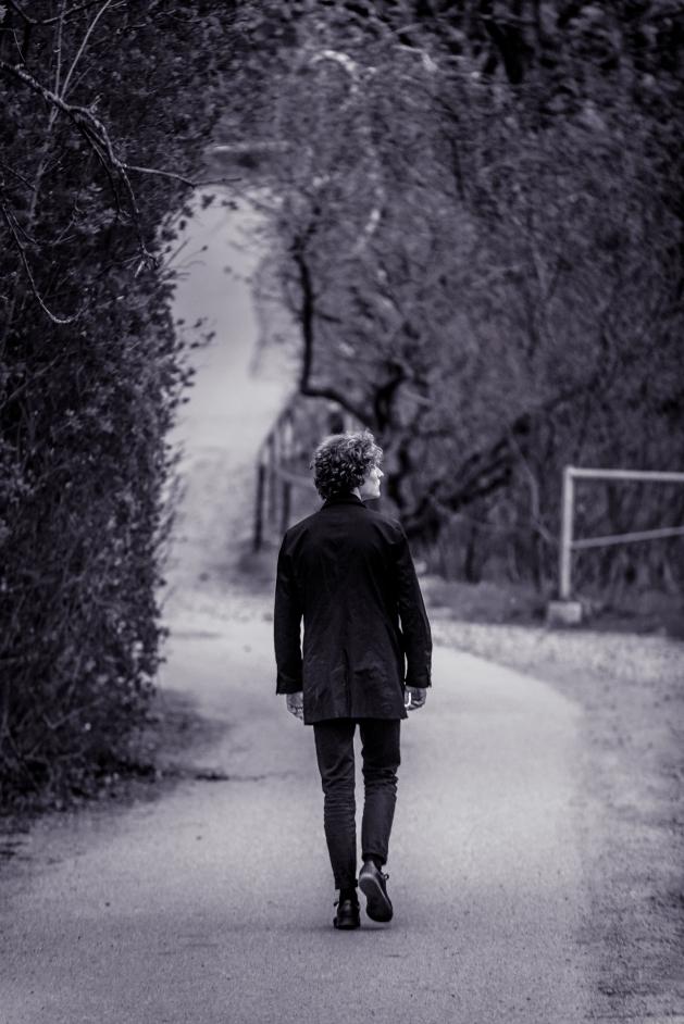Krull på promenad