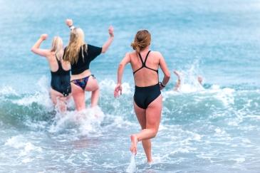 7 grader i vattnet