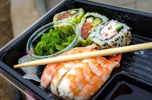 Bästa festivallunchen: sushi från Etika