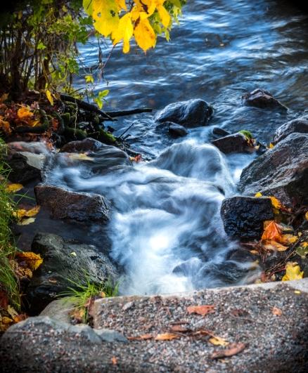 Stans minsta vattenfall