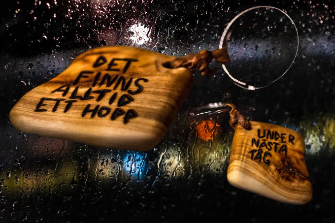Min norrbottniska nyckelbricka, specialbeställd från @schettzofren