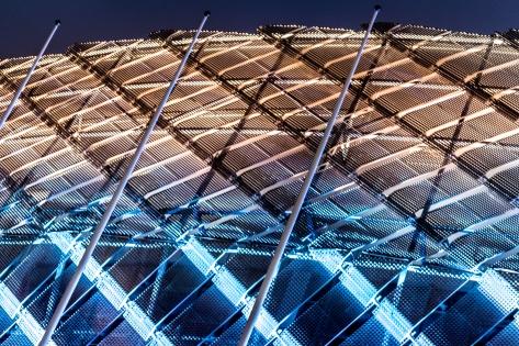 Detalj av Teletubbies Arena