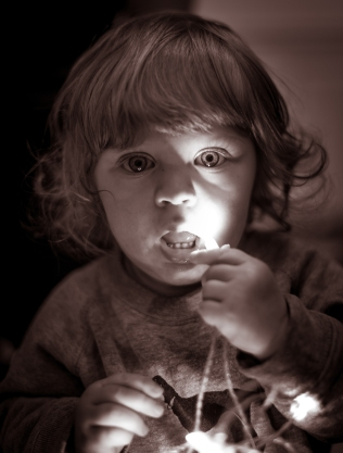Sigge käkar ljus