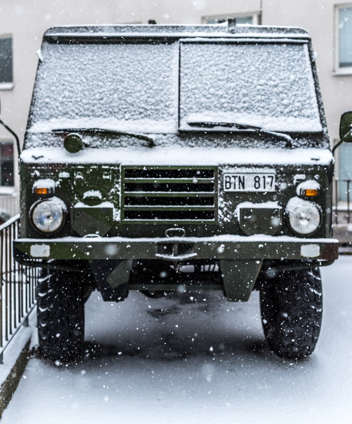 Väderanpassat fordon