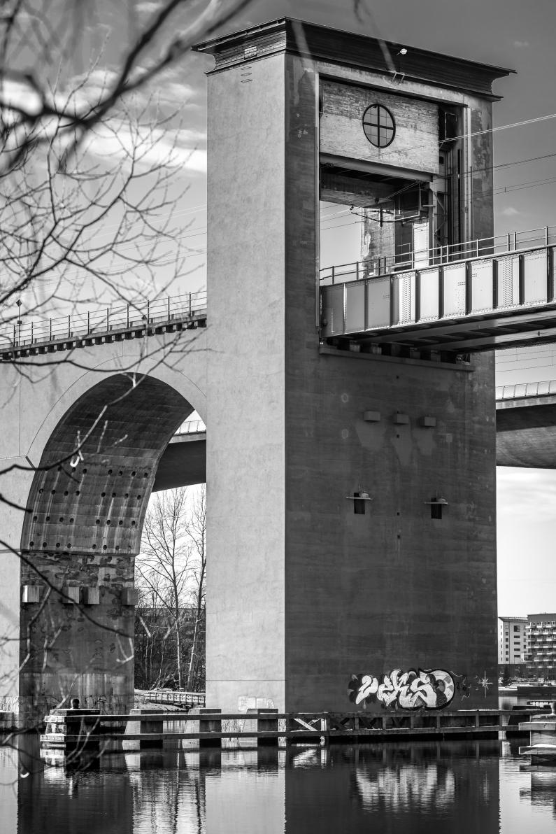 Sveriges längsta bro på sin tid