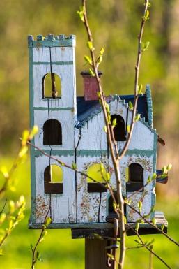 Mäklarbild på småhus
