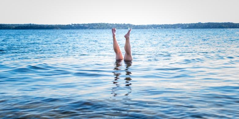 Korrekt utfört dopp i Gustavsbergstrakten