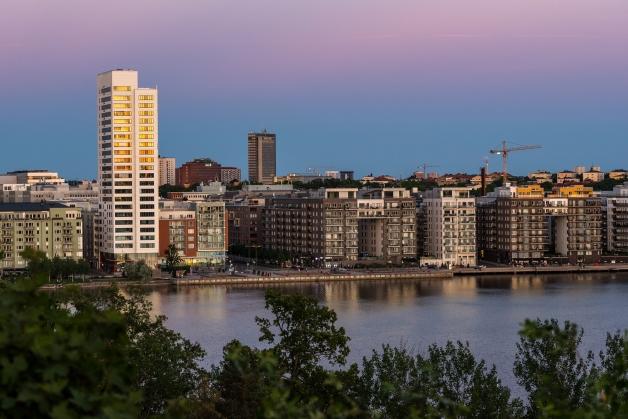 Västra Kungsholmens skyline