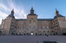 Slottet inifrån borggården