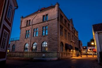 Sparbankshuset från 1900 blankt