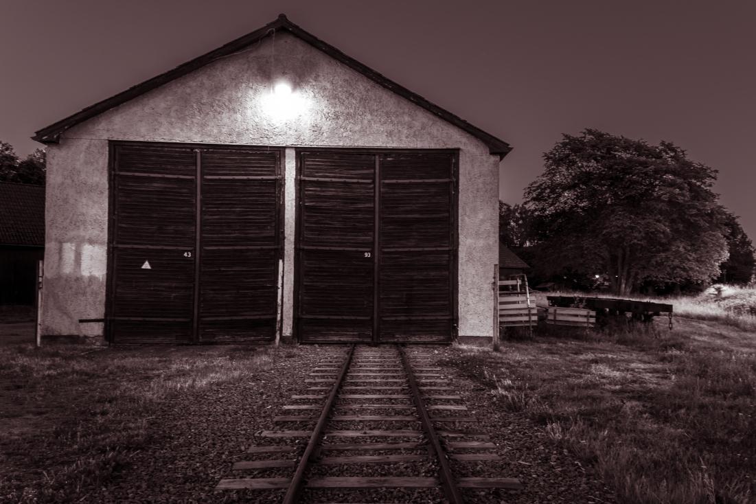 Lokstall, järnvägsmuseet