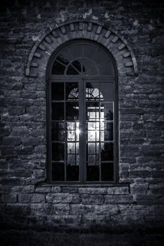 Lagom nuttigt fönster för en vagnverkstad