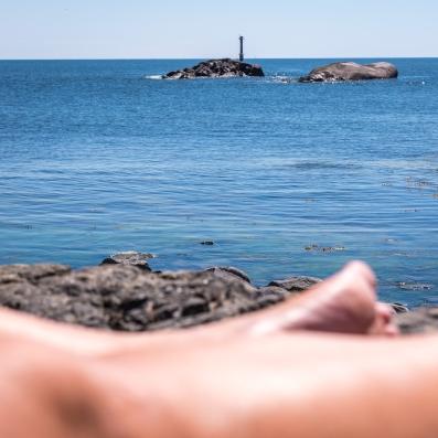 Obesökta holmar pga 15-gradigt hav