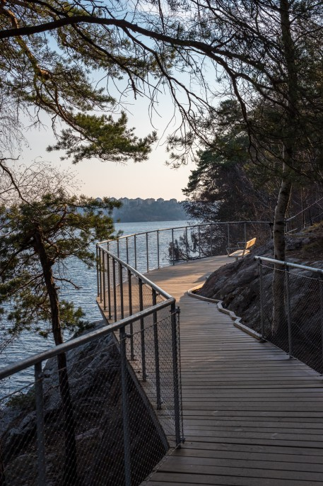 Boardwalk mot Ålsten
