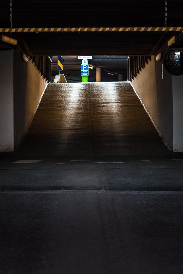 Hemma i garaget
